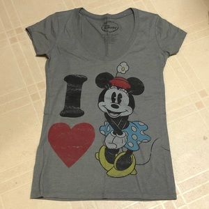 Disney Minnie Mouse T-Shirt Medium